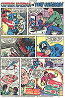Captain America and Nick Fury Hostess Ad