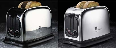 Retouch toaster
