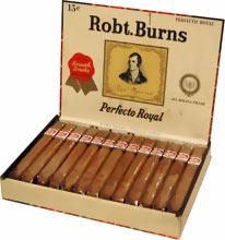 Robt. Burns cigars