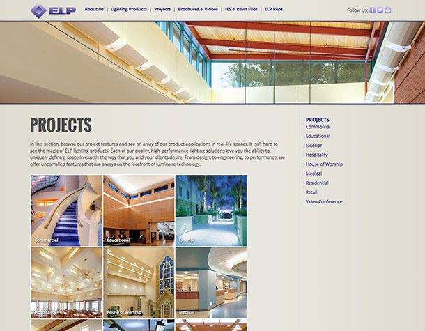 ELP Lighting u2013 Projects  sc 1 st  Rigney Graphics & ELP Lighting - Projects » Rigney Graphics
