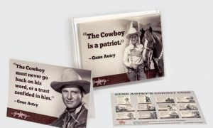 Gene Autry's Cowboy Code Greeting Cards